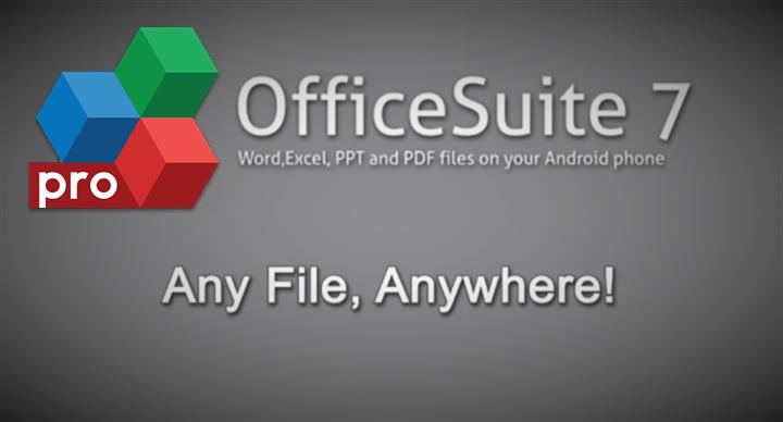 Download AppzTap: OfficeSuite Pro 7 PDF & Fonts 7.4.1610 APK